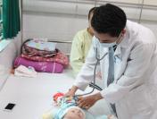 10 ca mắc tay chân miệng do nhiễm khuẩn EV71 tại Hà Nội