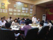 Đoàn HĐND Tỉnh Thừa Thiên Huế khảo sát công tác quản lý chất thải y tế tại Bệnh viện Chấn Thương Chỉnh Hình Phẫu Thuật Tạo Hình Huế