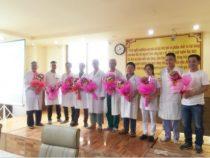 Bệnh viện CTCH – PTTH Huế chúc mừng sinh nhật các cán bộ – nhân viên có ngày sinh trong tháng 4 và tháng 5