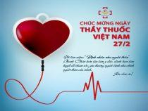 Chúc mừng 66 năm Ngày Thầy thuốc Việt Nam (27/2/1955 – 27/2/2021)